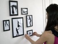 Украшение  фотографиями интерьера