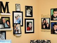 Оформление комнаты фотографиями