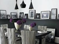 Черно-белые фотографии особый акцент в интерьере