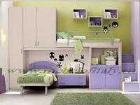 Кровать-чердак - идеальное решение для детской