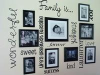 Как правильно развесить фото на стене