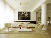 Обстановка в современной квартире