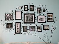 Развешиваем фотографии в доме