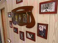 Семейные фото в интерьере дома