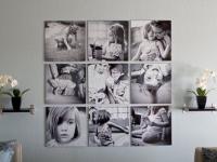 Идеи по размещению фотографий в интерьере