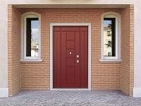 Входные двери для загородного дома: выбор фурнитуры