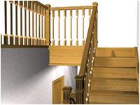 Лестницы на второй этаж как основная изюминка интерьера