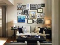 Советы о оформлении стен фотографиями
