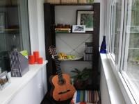 Переделка: балкон как новая комната в квартире