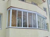 Методы остекления балконов