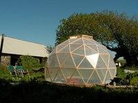 Как построить деревянную купольную баню