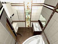 Зеркало в ванную - играем с пространством и светом