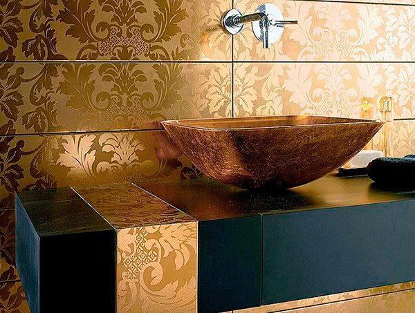 Кафельная плитка для ванной - это лучший выбор