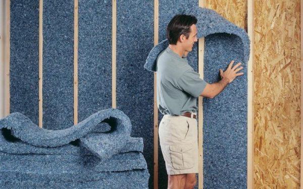 Как сделать шумоизоляцию стены