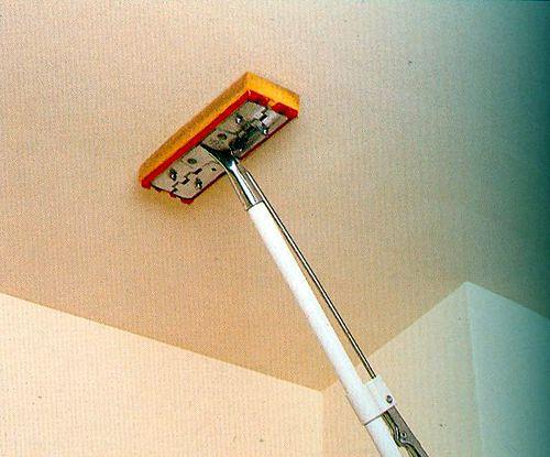 Подготовка стены и потолка для проектора