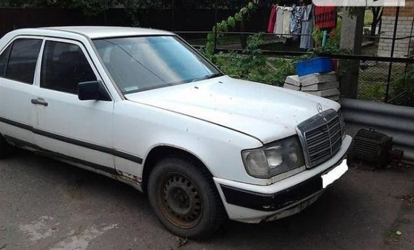 Продажа автомобиля на запчасти Mercedes