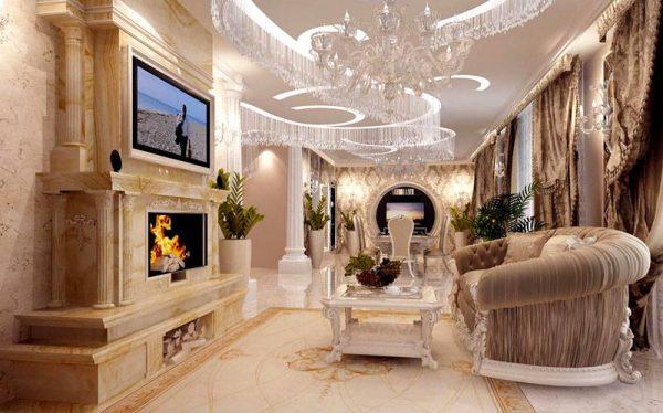 Как оформить дом в стиле барокко?