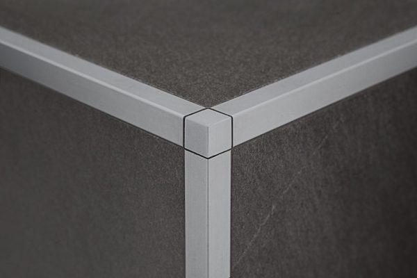 Для чего применяется уголок декоративный алюминиевый для плитки