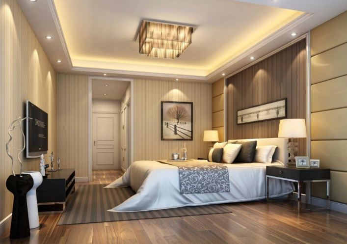 Дизайн спальной комнаты. Виды спален