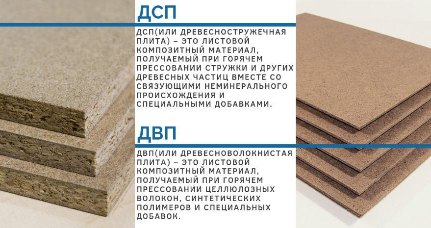 ДВП - лучший строительный материал