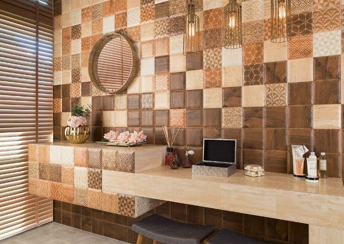 Керамическая плитка - украшение интерьера