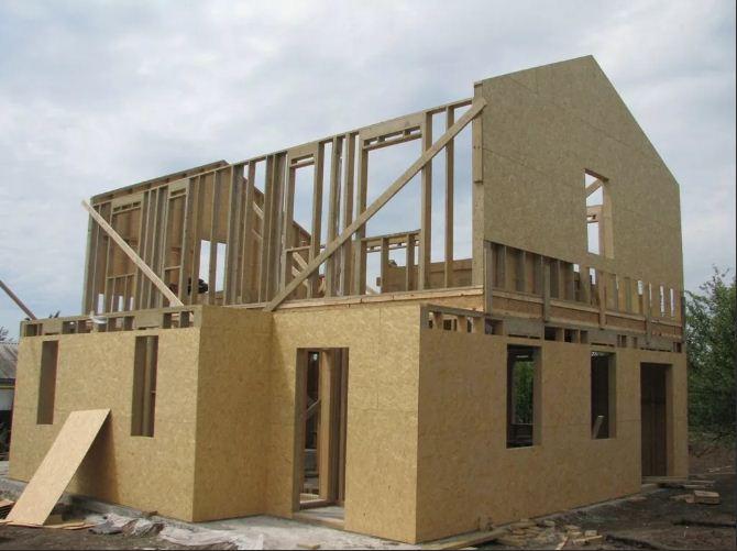 Специфика и преимущества каркасно-щитового дома под ключ