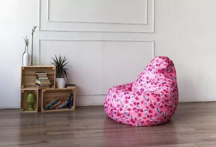 Бескаркасная мебель. Популярное кресло-мешок
