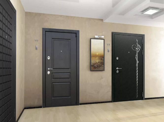 Входные металлические двери в квартиру